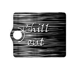 Black an white  Chill out  Kindle Fire HDX 8.9  Flip 360 Case
