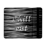 Black an white  Chill out  Samsung Galaxy Tab Pro 8.4  Flip Case Front
