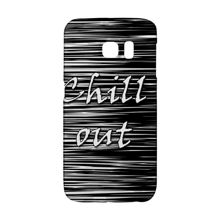 Black an white  Chill out  Galaxy S6 Edge