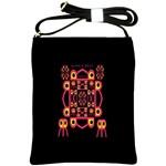 Alphabet Shirt Shoulder Sling Bags Front