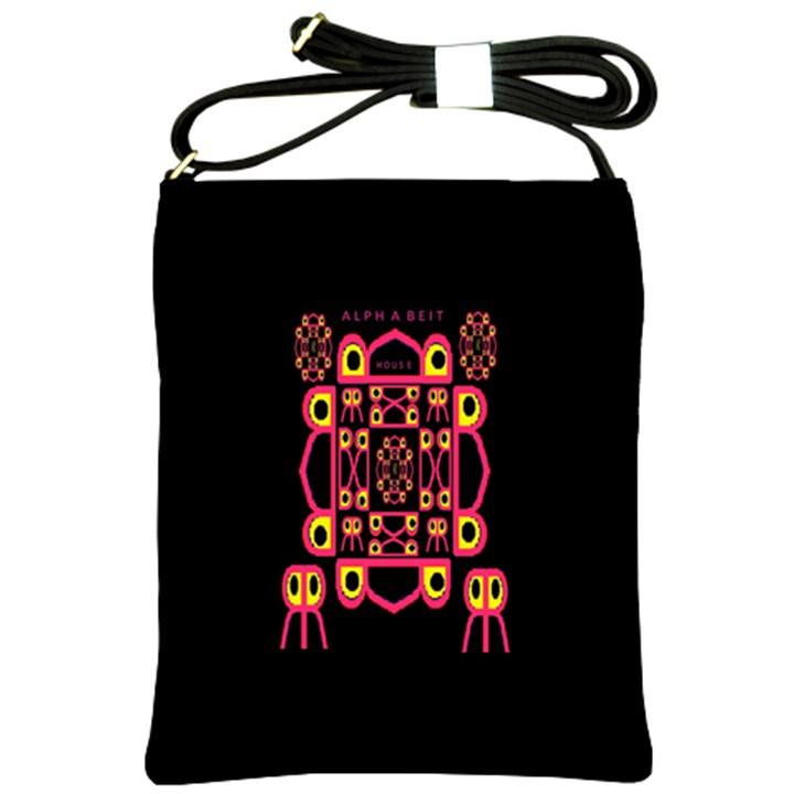 Alphabet Shirt Shoulder Sling Bags