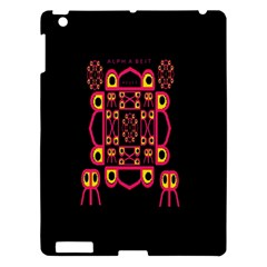 Alphabet Shirt Apple Ipad 3/4 Hardshell Case
