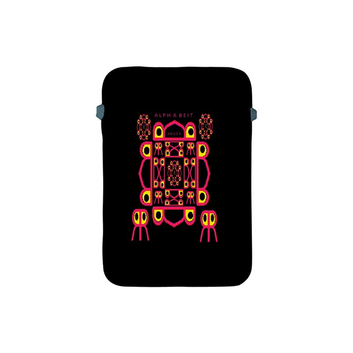 Alphabet Shirt Apple iPad Mini Protective Soft Cases