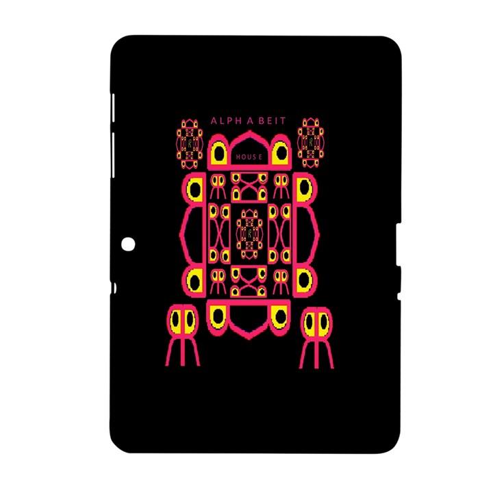 Alphabet Shirt Samsung Galaxy Tab 2 (10.1 ) P5100 Hardshell Case