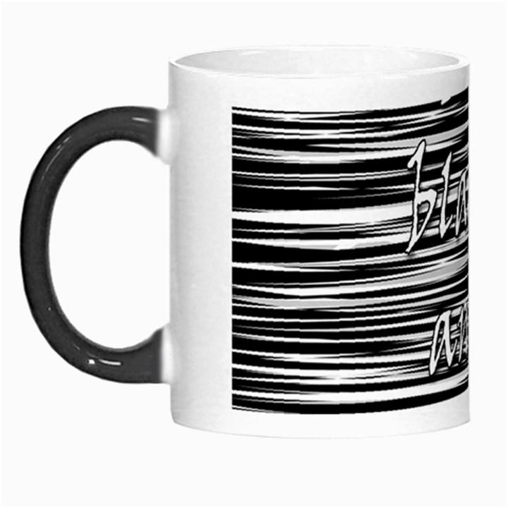 I love black and white Morph Mugs