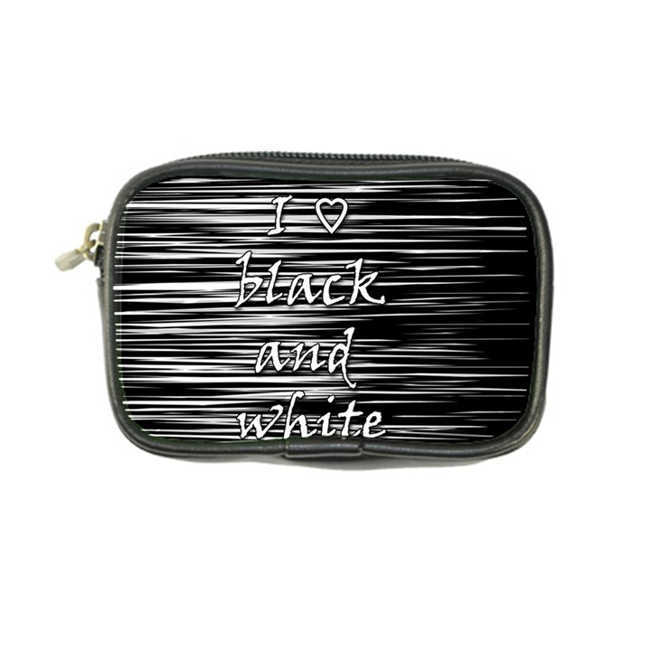 I love black and white Coin Purse