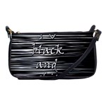 I love black and white Shoulder Clutch Bags Front