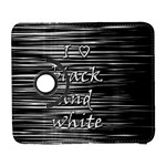 I love black and white Samsung Galaxy S  III Flip 360 Case
