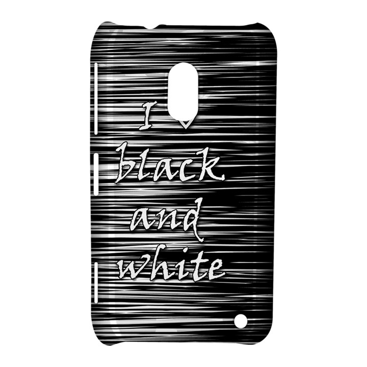 I love black and white Nokia Lumia 620