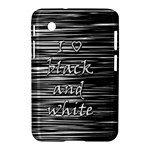 I love black and white Samsung Galaxy Tab 2 (7 ) P3100 Hardshell Case