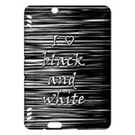 I love black and white Kindle Fire HDX Hardshell Case