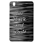 I love black and white Samsung Galaxy Tab Pro 8.4 Hardshell Case