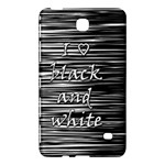 I love black and white Samsung Galaxy Tab 4 (7 ) Hardshell Case