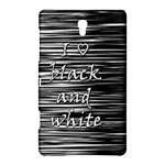 I love black and white Samsung Galaxy Tab S (8.4 ) Hardshell Case