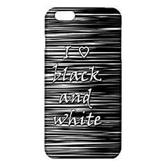 I Love Black And White Iphone 6 Plus/6s Plus Tpu Case by Valentinaart