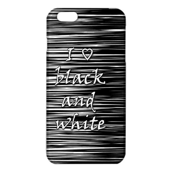 I love black and white iPhone 6 Plus/6S Plus TPU Case