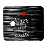 I love black and white 2 Samsung Galaxy S  III Flip 360 Case Front
