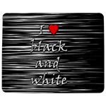 I love black and white 2 Jigsaw Puzzle Photo Stand (Rectangular) Front