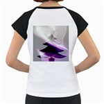 Purple Christmas Tree Women s Cap Sleeve T Back