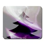 Purple Christmas Tree Large Mousepads Front