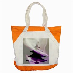 Purple Christmas Tree Accent Tote Bag by yoursparklingshop