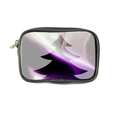 Purple Christmas Tree Coin Purse