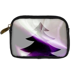 Purple Christmas Tree Digital Camera Cases by yoursparklingshop