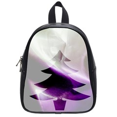 Purple Christmas Tree School Bags (small)  by yoursparklingshop