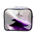 Purple Christmas Tree Mini Toiletries Bags