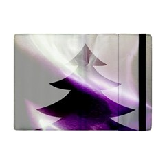 Purple Christmas Tree Apple Ipad Mini Flip Case by yoursparklingshop