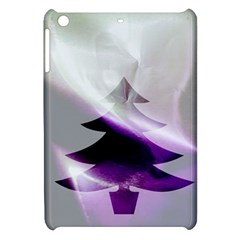Purple Christmas Tree Apple Ipad Mini Hardshell Case