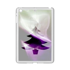 Purple Christmas Tree Ipad Mini 2 Enamel Coated Cases by yoursparklingshop