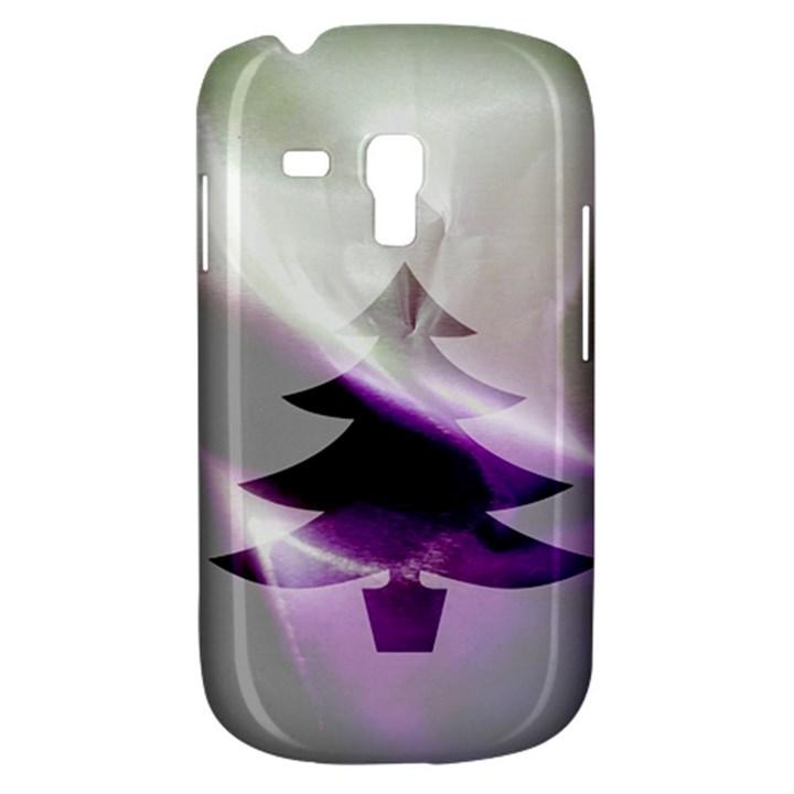 Purple Christmas Tree Samsung Galaxy S3 MINI I8190 Hardshell Case