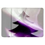 Purple Christmas Tree Samsung Galaxy Tab 8.9  P7300 Flip Case