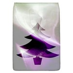 Purple Christmas Tree Flap Covers (L)  Front