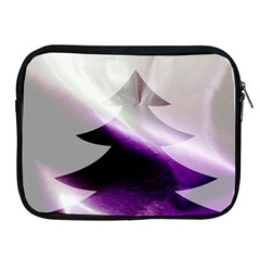 Purple Christmas Tree Apple Ipad 2/3/4 Zipper Cases by yoursparklingshop