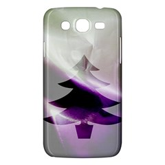 Purple Christmas Tree Samsung Galaxy Mega 5 8 I9152 Hardshell Case