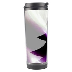 Purple Christmas Tree Travel Tumbler by yoursparklingshop