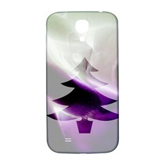 Purple Christmas Tree Samsung Galaxy S4 I9500/i9505  Hardshell Back Case by yoursparklingshop