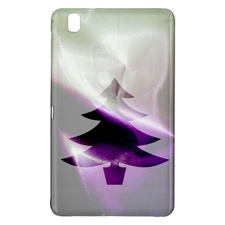 Purple Christmas Tree Samsung Galaxy Tab Pro 8.4 Hardshell Case