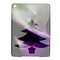 Purple Christmas Tree Ipad Air 2 Hardshell Cases by yoursparklingshop
