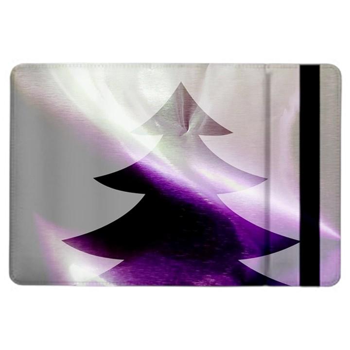 Purple Christmas Tree iPad Air 2 Flip