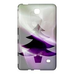 Purple Christmas Tree Samsung Galaxy Tab 4 (7 ) Hardshell Case