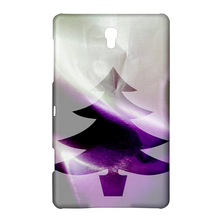 Purple Christmas Tree Samsung Galaxy Tab S (8.4 ) Hardshell Case