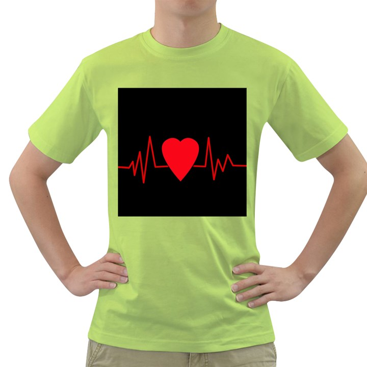 Hart bit Green T-Shirt