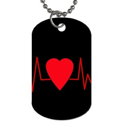 Hart Bit Dog Tag (two Sides)