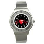 Hart bit Stainless Steel Watch