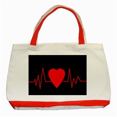 Hart Bit Classic Tote Bag (red)