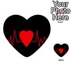 Hart bit Multi-purpose Cards (Heart)  Front 18