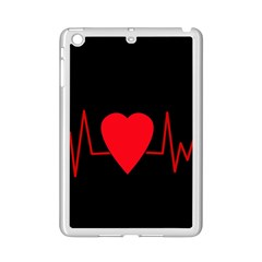 Hart Bit Ipad Mini 2 Enamel Coated Cases by Valentinaart